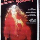 WEEKEND FANTASY Erotic ORIGINAL Poster JENNIFER WEST 1980