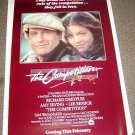 RICHARD DREYFUSS The COMPETITION Amy Irving POSTER Original ROLLED Mint UNUSED
