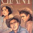 GIANT Western ROCK HUDSON  Elizabeth Taylor JAMES DEAN Vintagee Art Movie POSTER