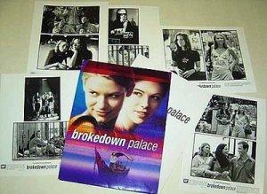 BROKEDOWN PALACE Original 5 PHOTO Press Kit CLAIRE DANES Kate Beckinsale  1999