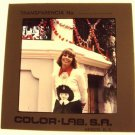 TONI TENNILLE Original Color TRANSPARENCY Slide Captain &  One of a Kind! 1976