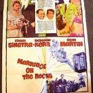 MARRIAGE ON THE ROCKS Original 1-Sheet Movie Poster DEBORAH KERR Frank Sinatra