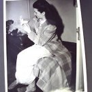 MARGARET O'BRIEN Original M.G.M. ON THE SET Photo With  LAMB Metro Goldwyn Mayer