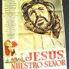 Jesús, nuestro Señor MEXICAN Poster CLAUDIO BROOK Jesus CHRISTIAN Lord  Christ
