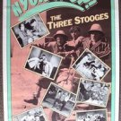 The THREE STOOGES  Yuck It Up!  Original PROMO Poster 3 LARRY Moe CURLY