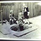 OUR GANG Hal Roach ORIGINAL PHOTO Dog is Dogs! LITTLE RASCALS 1931