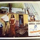 DOROTHY DANDRIDGE Original TAMANGO Lobby Card CURD JURGENS Slave Blaxploitation