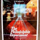 MICHAEL PARE Nancy Allen Original PHILADELPHIA EXPERIMENT 1-Sheet Movie  Poster
