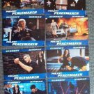 GEORGE CLOONEY Nicole Kidman PEACEMAKER Lobby Card SET of 8 FOREIGN Photo Images