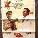 PETER FALK The IN-LAWS Original 1-Sheet Movie  POSTER Alan Arkin Columbo Star