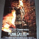 ROBIN HOOD Prince Thieves FRENCH Poster KEVIN COSTNER Huge ORIGINAL from FRANCE