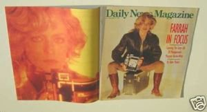 FARRAH FAWCETT Herb Ritts Photo shoot Local MAGAZINE CHARLIE'S ANGELS 1989