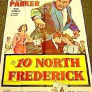GARY COOPER Ten North Frederick Original 3-Sheet POSTER 10 1958 VINTAGE