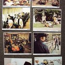 WESTWORLD Original LOBBY CARD Set of 8 James Brolin YUL BRYNNER Robot Bionic Man
