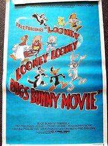 bugs bunny friz freleng looney tunes movie original poster