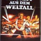 STEVE McQUEEN   The BLOB  Original CAMPY German  Movie POSTER Sci-Fi 1958  BLOB