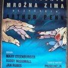 DEAD OF WINTER Original POLISH Movie Poster MARY STEENBURGEN Roddy McDowall 1987