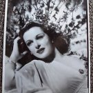 JOAN BENNETT Original Test Studio PHOTO  glamour PORTRAIT Dark Shadows Star