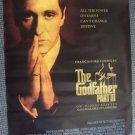 GODFATHER  III  Oriiginal Rare Style  Poster  Al PACINO  Francis Ford Coppola