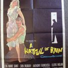 A HATFUL OF RAIN 1-Sheet Movie Poster DON MURRAY Eva Marie Saint 1957 ORIGINAL