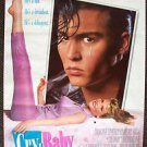 CRY- BABY Original PRINTER PROOF Film Poster JOHNNY DEPP Traci Lords JOHN WATERS