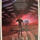 DUNE Original MINT 1-Sheet Rolled POSTER Kyle MacLachlan STING  David Lynch