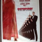 JAMES BOND 007 ADVANCE Original Poster OCTOPUSSY  ROGER MOORE  Albert Broccoli