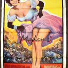 SOPHIA LOREN Original MADAME Sans-Gêne ORIGINAL 1-Sheet MOVE Poster Glamour 1961