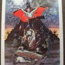 ANDY WARHOL Joe Dallesandro DRACULA  Original 1-Sheet Movie  POSTER 1974