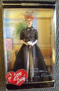 I Love Lucy Mattel Barbie Doll Lucille Ball L A At Last