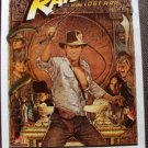RAIDERS OF THE LOST ARK Original Rolled POSTER Richard Amsel Art  HARRISON FORD
