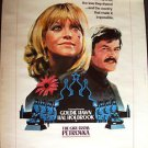 GOLDIE HAWN  The GIRL FROM PETROVKA  Original Drive-In POSTER Hal Holbrook 1974