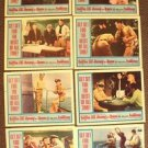 ASSAULT ON A QUEEN Frank Sinatra VIRNA LISI Original LOBBY CARD Set of 8 Color