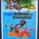 BEDKNOBS AND BROOMSTICKS Original 1-Sheet DISNEY Poster Angela Lansbury DISNEY