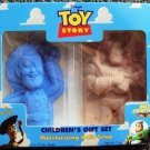 TOY STORY Original BATH SOAP Gift Set WOODY Buzz Lightyear MIB Disney PIXAR