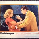CLAUDELLE INGLISH Original PHOTO Lobby Card DIANE McBAIN Claude Akins WARNER BRO