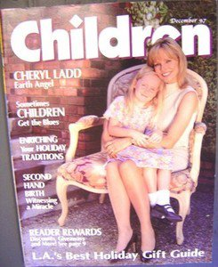 CHERYL LADD Local Children Magazine CHARLIE'S ANGELS Charlies EXCLUSIVE PHOTOS