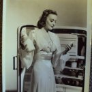 KARIN BOOTH Original 1947 MGM Fashion PHOTO IRENE M.G.M Refridgerator Milk