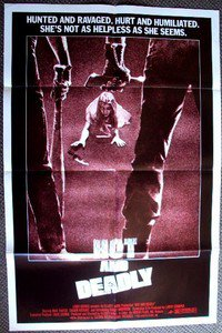 HOT AND DEADLY The RETRIEVERS Sexploitation POSTER 1982  Horror Thriller!!!!