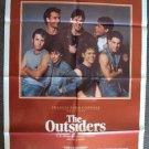 OUTSIDERS 1-Sheet Movie POSTER Matt Dillon RALPH MACCHIO Tom Cruise ROB LOWE '82