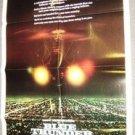BLUE THUNDER Original 1-Sheet Movie POSTER Roy Scheider PLANE Never hung!