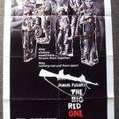 BIG RED ONE Original POSTER Mark Hamill LEE MARVIN Robert Carradine ARMY U.S War