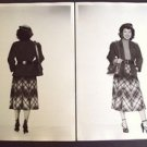 ASIAN Woman ORIGINAL Wardrobe FASHION Photo CHINESE Asia 1950s Glamor Model