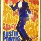 AUSTIN POWERS Original ADVANCE Teaser 1-Sheet  Movie POSTER  Mike Myers GROOVY