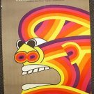 SOUTHERN STAR Original POLISH Poster GEORGE SEGAL Ursula Andress ORSON WELLES 69