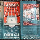 PAN AM Original May 1954 Lisboa PORTUGAL Lisbon TOURISM BOOKLET AIRLINE Europe