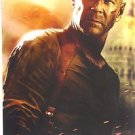 Live Free or DIE HARD Original  BRUCE WILLIS Poster 2007 ACTION Adventure film!