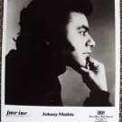 JOHNNY MATHIS Original Vintage Agency PHOTO JMR INC 70s