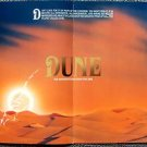 DUNE Trade Program DAVID LYNCH Kyle MacLachlin STING Dino De Laurentiis 1984