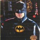 BATMAN Returns ORIGINAL Promo POSTER Tim Burton MICHAEL KEATON Caped Crusader